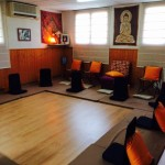 Sala meditación ashram de Riudoms