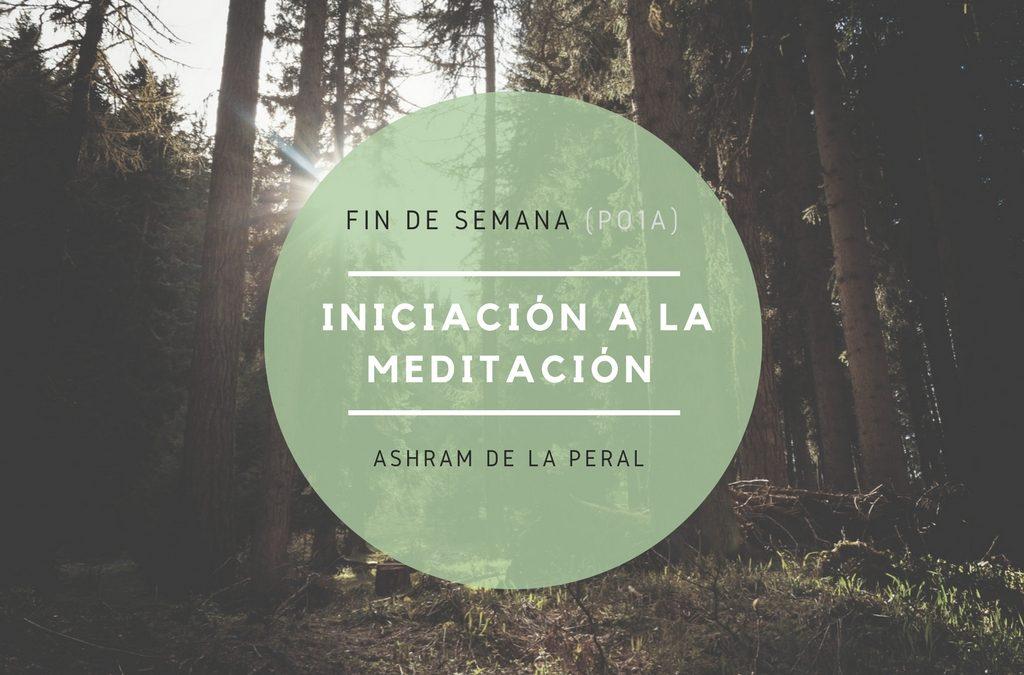 Curso de Iniciación a la Meditación. Del 9 al 11 de Marzo. Asturias