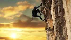 La determinación de llegar a la cima