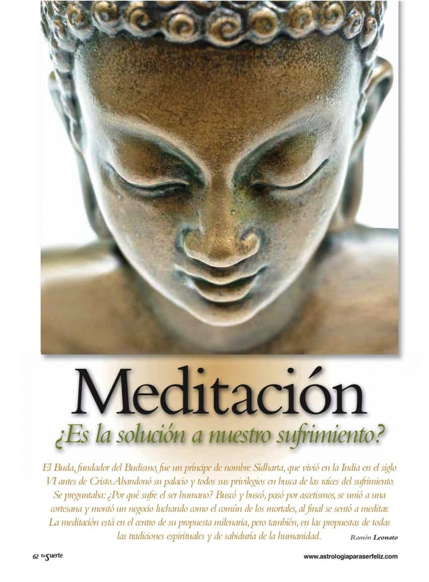 """La meditación en """"Tu Suerte"""""""