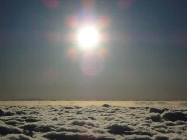 Yo existo dijo el sol