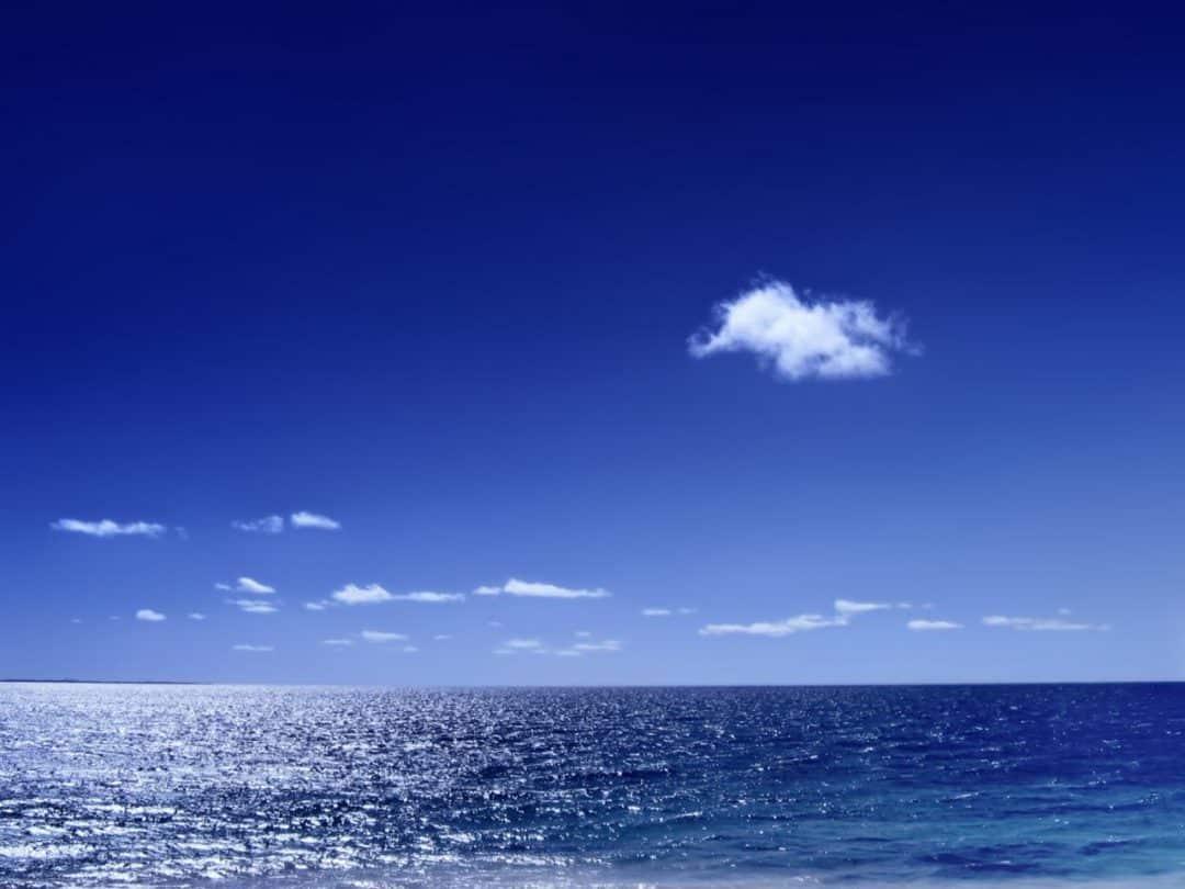 El cielo es azul