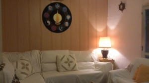 Sala de estar - Ashram de Riudoms