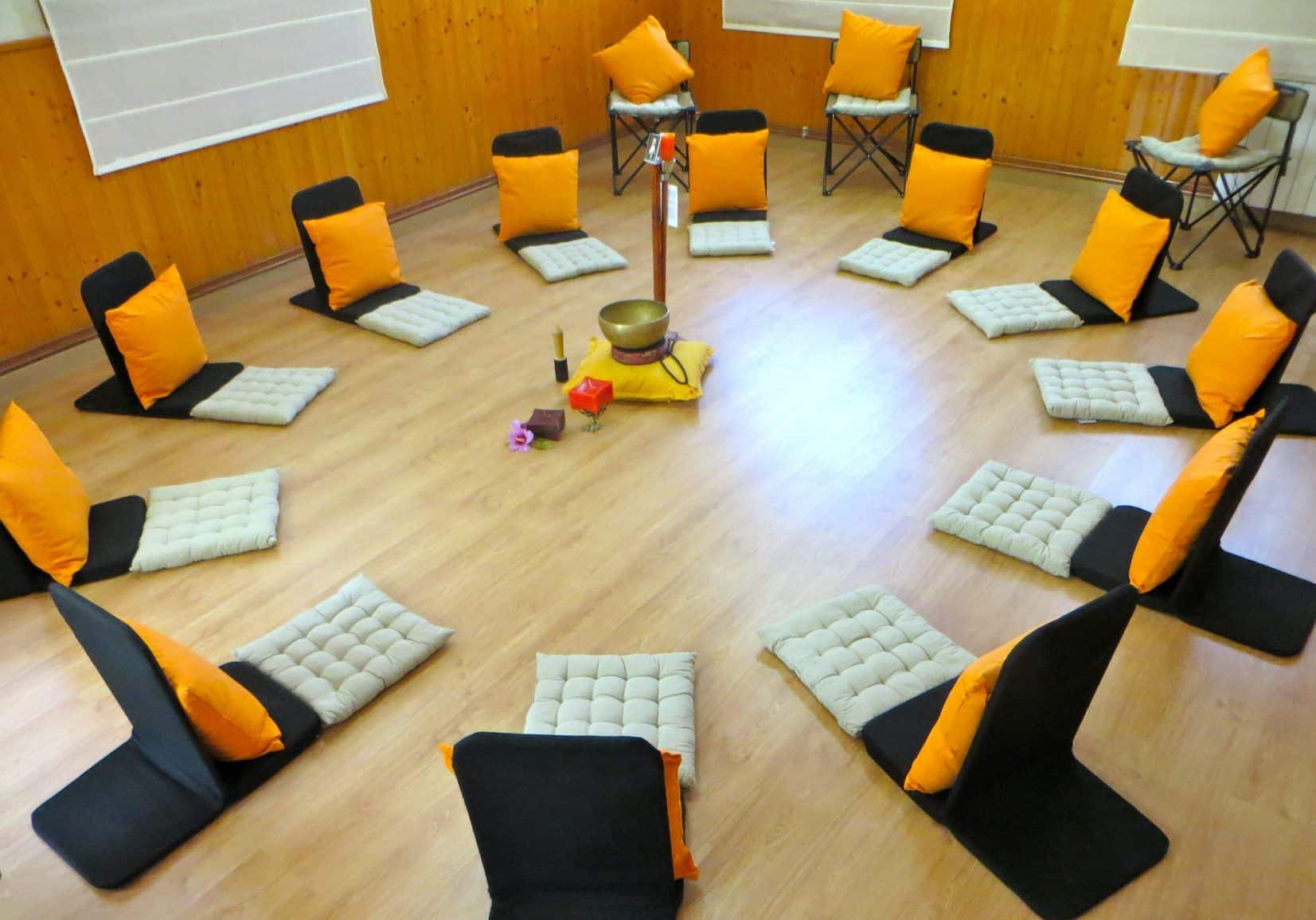 MEDITACIÓN EN GRUPO EN RIUDOMS