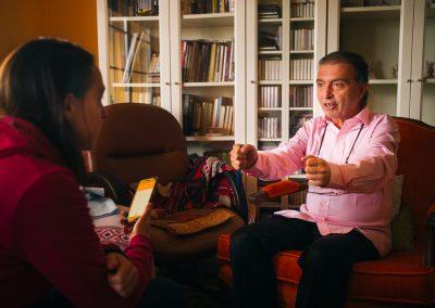 Ramón Leonato profesor de la Sociedad Española de Meditación