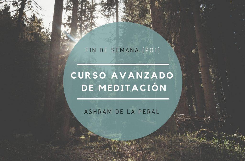 Curso avanzado de Meditación. Del 23 al 25 de Febrero. Asturias