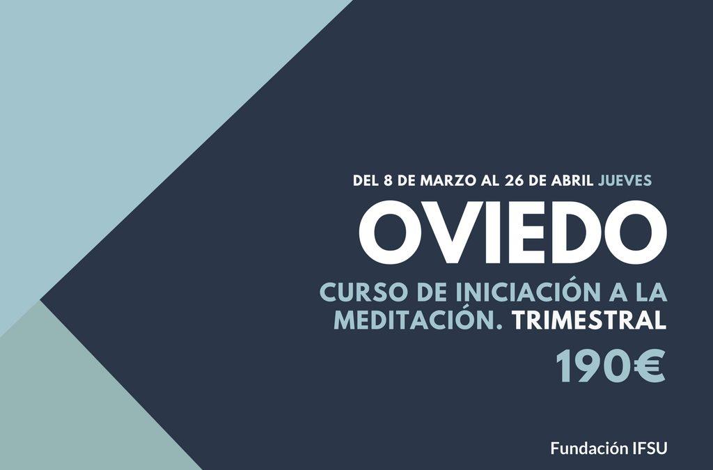 Curso de iniciación a la Meditación y el Mindfulness en Oviedo