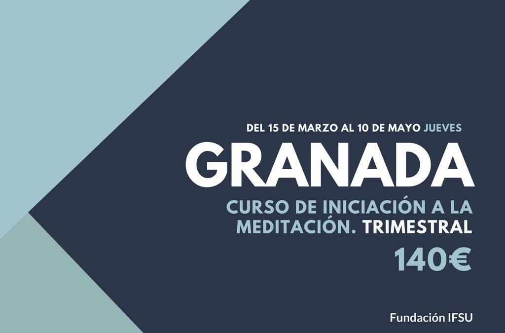 Curso de iniciación a la Meditación y el Mindfulness en Granada
