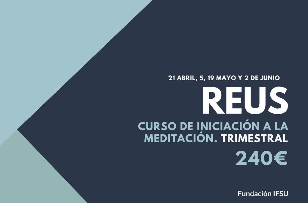 Curso de iniciación a la Meditación y el Mindfulness en Tarragona.
