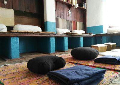 Sala Meditacion Ashram Segura Tarragona