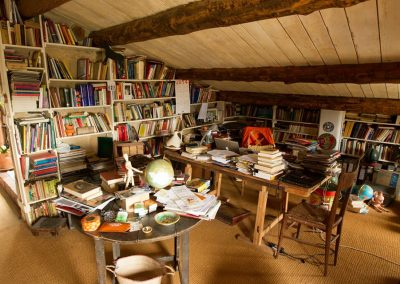 biblioteca Ashram de la creatividad