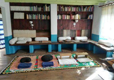 Sala Meditacion Ashram Segura