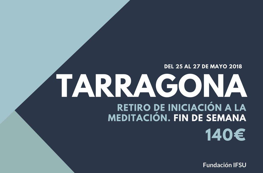 Retiro de iniciación a la meditación en Tarragona