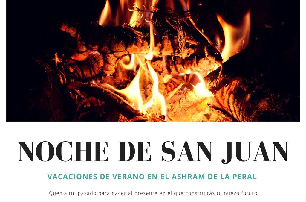 Noche de San Juan en el Ashram de la Peral