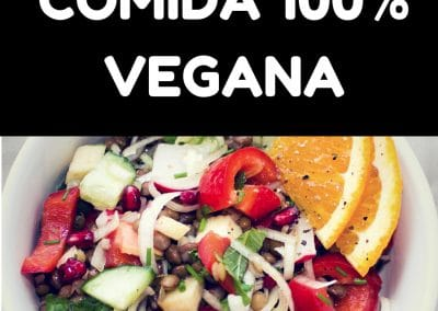 Comida 100% Veganaeams don't workunless you do