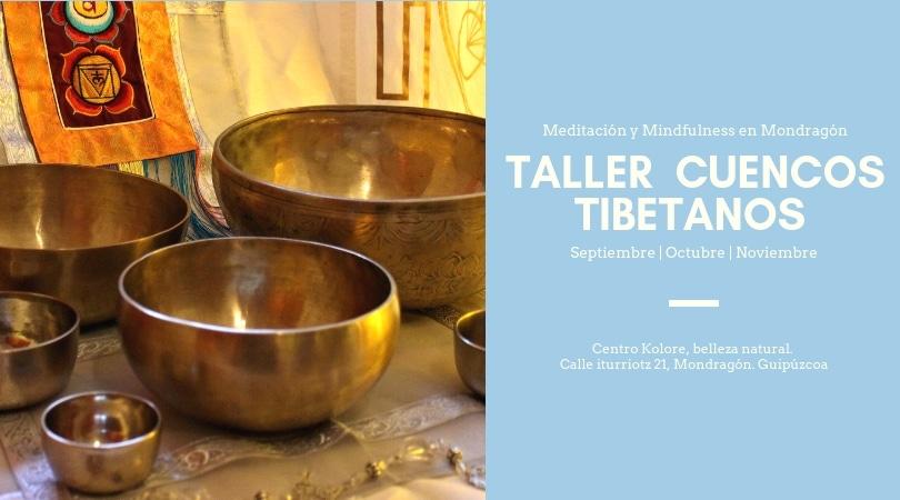 Charla de meditación y cuencos tibetanos en Mondragón