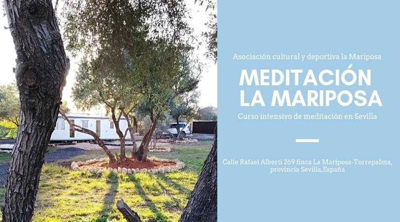 Curso Intensivo de Meditación en Finca La Mariposa (Urb.Torrepalma Sevilla)