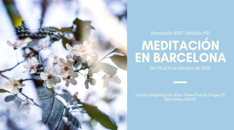 Curso de iniciación a la meditación en Barcelona 2018