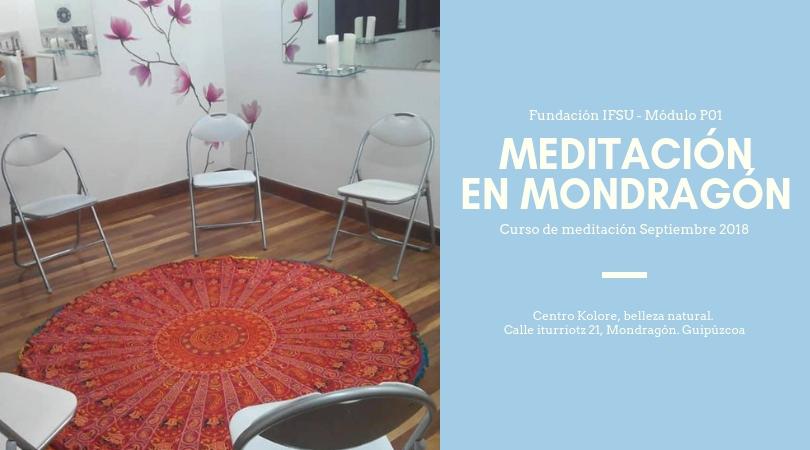 Curso de iniciación a la meditación en Guipúzcoa | Septiembre 2018