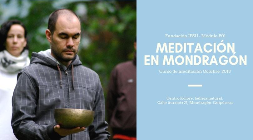 Curso de iniciación a la meditación en  Guipúzcoa | Octubre 2018
