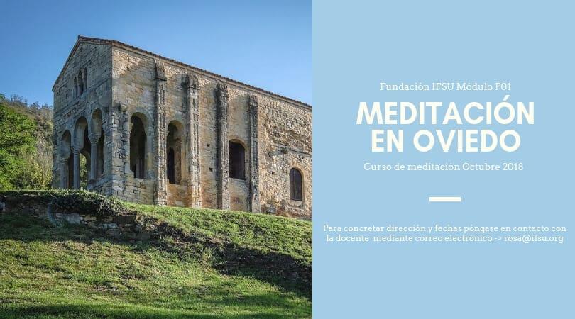 Curso de iniciación a la meditación en Oviedo, Asturias.