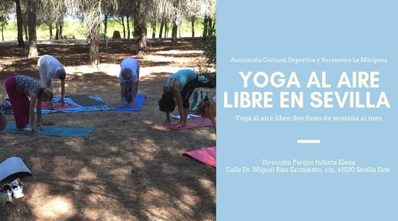 Yoga y Meditación en Sevilla Este en el parque Infanta Elena
