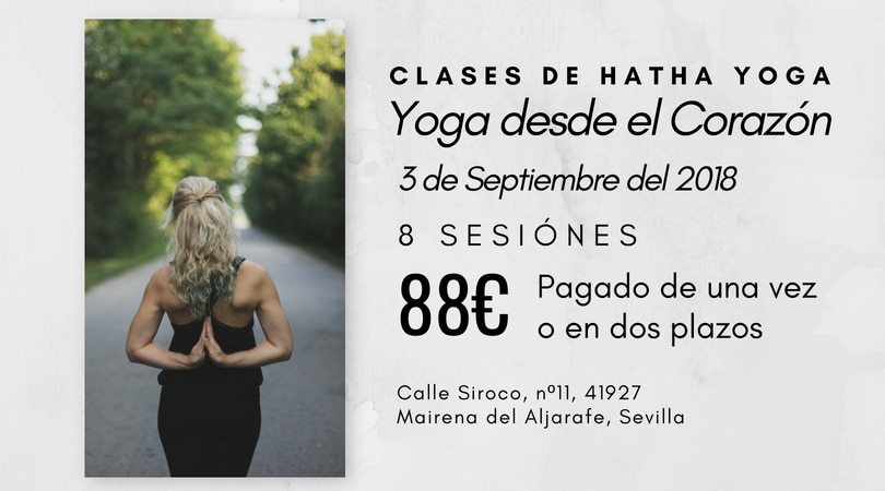 Curso Iniciación al Hatha Yoga en 8 Sesiones