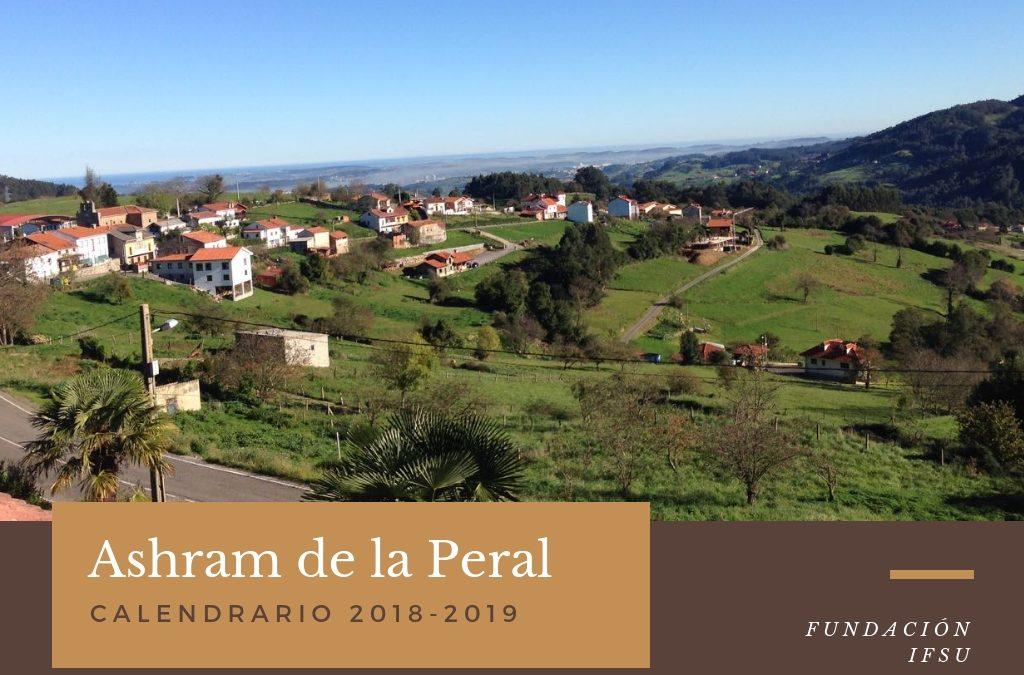 Retiros de Meditación en Asturias, Ashram de la Peral 2018-2019