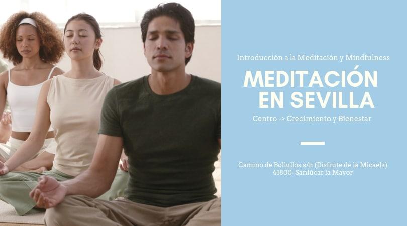 Aprende Meditación y Mindfulness en Sanlúcar la Mayor. Septiembre