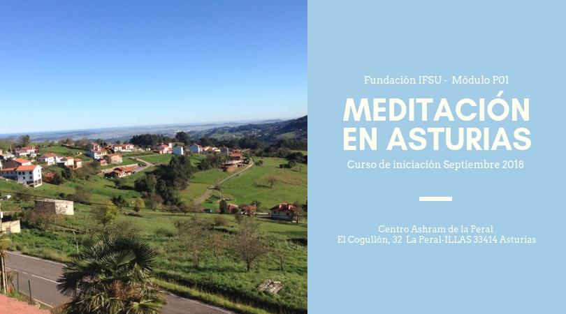 Retiro de iniciación a la meditación en Asturias Septiembre