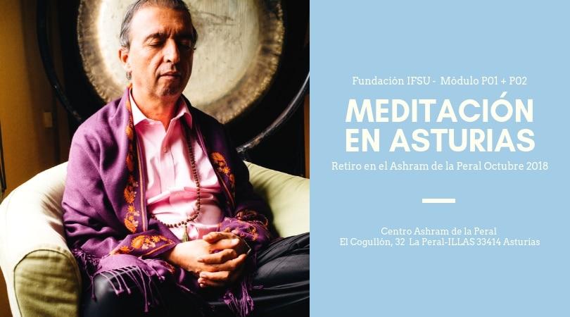 Retiro de Meditación. Iniciación + Avanzado. Asturias