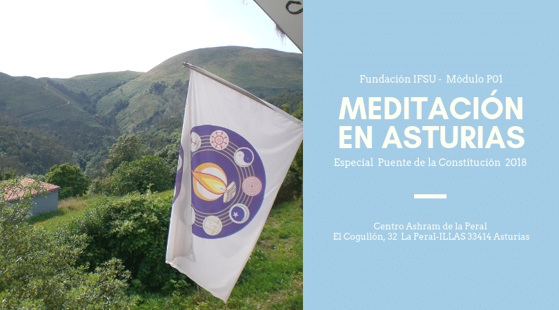 Retiro de Meditación puente de la constitución en Asturias