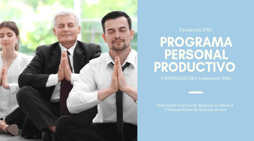Programa Personal Productivo