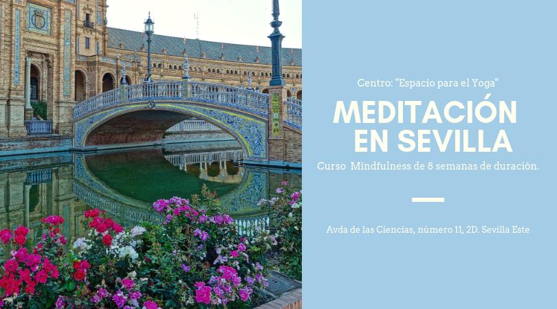 Curso de Meditación – Mindfulness de 8 semanas en Sevilla.