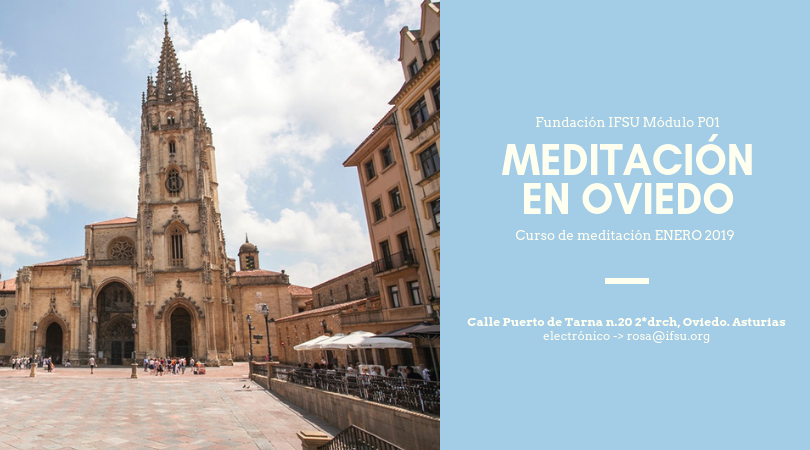 Curso de Iniciación a la Meditación en Oviedo. Enero 2019