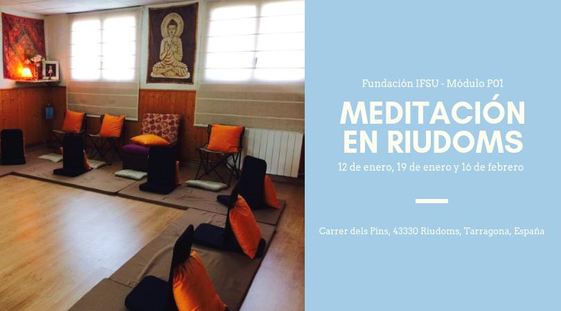 Introducción a la meditación y al mindfulness en Riudoms
