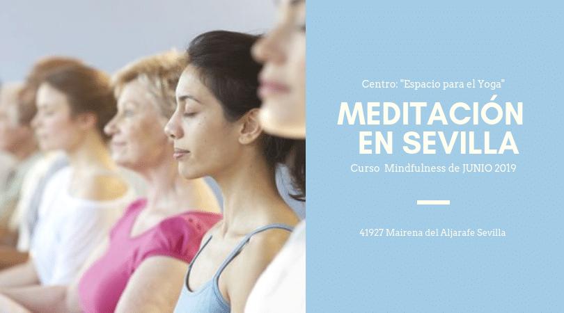 Curso intensivo de Meditación Mindfulness y Hatha Yoga en Sevilla