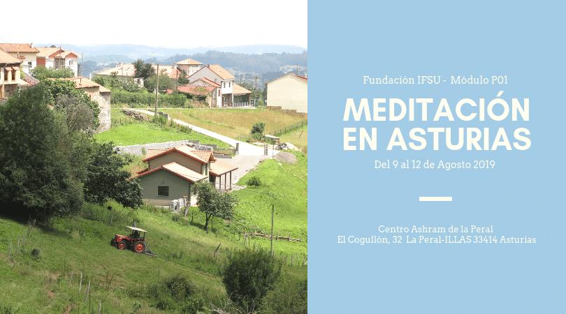 Retiro de iniciación a la meditación en Asturias.