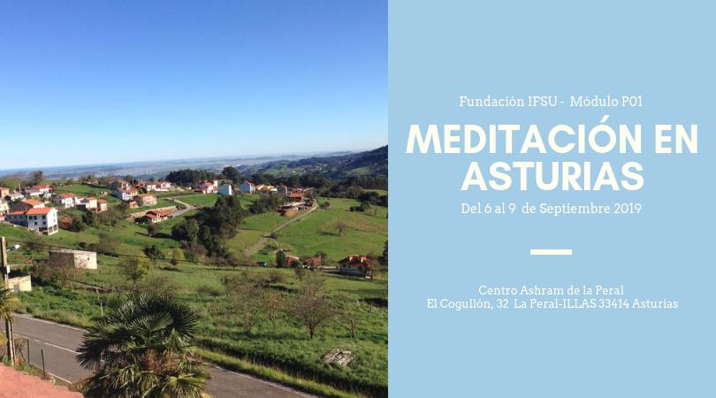 Curso de iniciación a la meditación en Asturias Septiembre