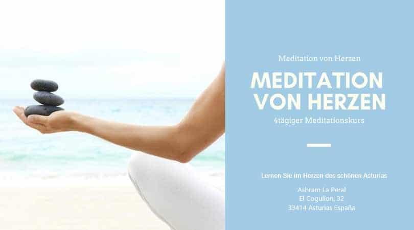 Curso de Meditación en Alemán de 5 días en Asturias | Meditation von Herzen