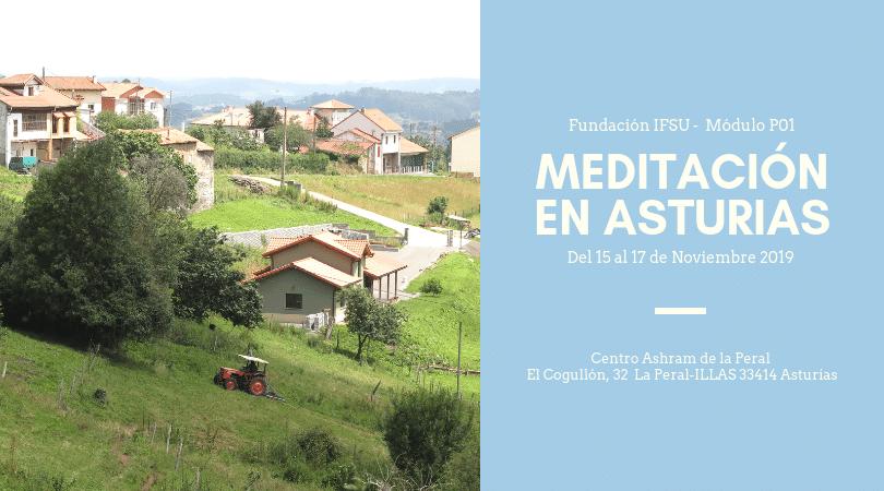 Retiro de iniciación a la meditación en Asturias. Del 15 al 17 de Noviembre